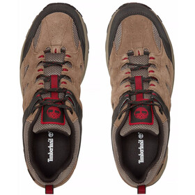 Timberland Sadler Pass F/L Low GTX Shoes Men Light Brown Suede/Mesh
